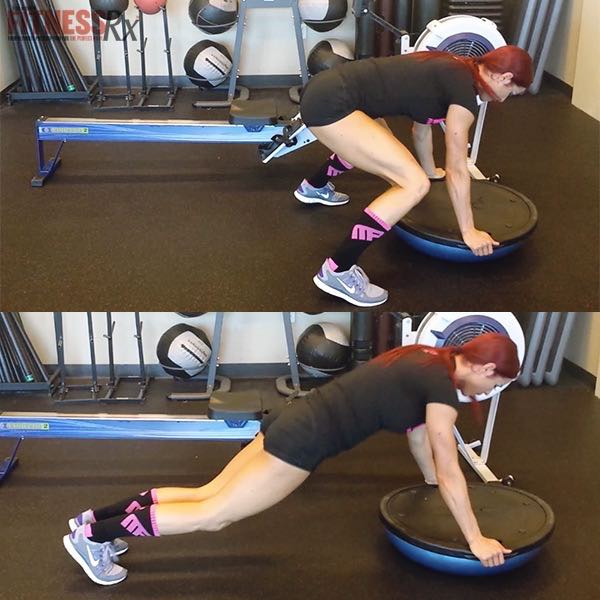 HIIT The Core With Rowing, Plyos & Planks