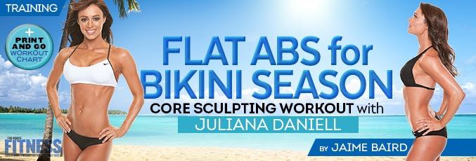 Flat Abs for Bikini Season