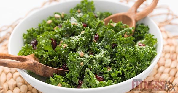 WeHo Kale Salad - Low-calorie, Nutrient-Dense Meal