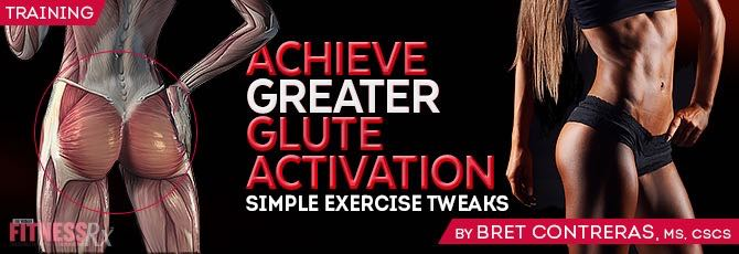 Achieve Greater Glute Activation