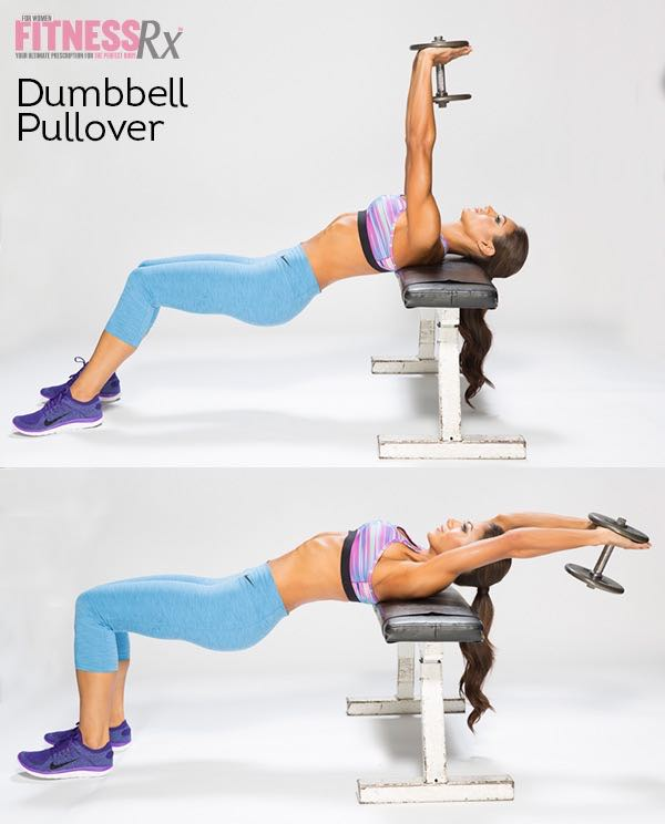 Single Dumbbell Complex | FitnessRX for Women