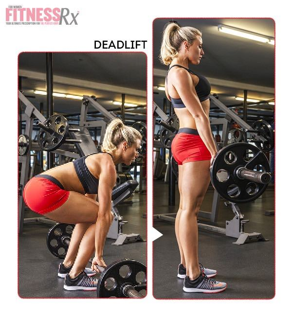 8 WEEK SUMMER SLIM DOWN WORKOUT - Deadlift