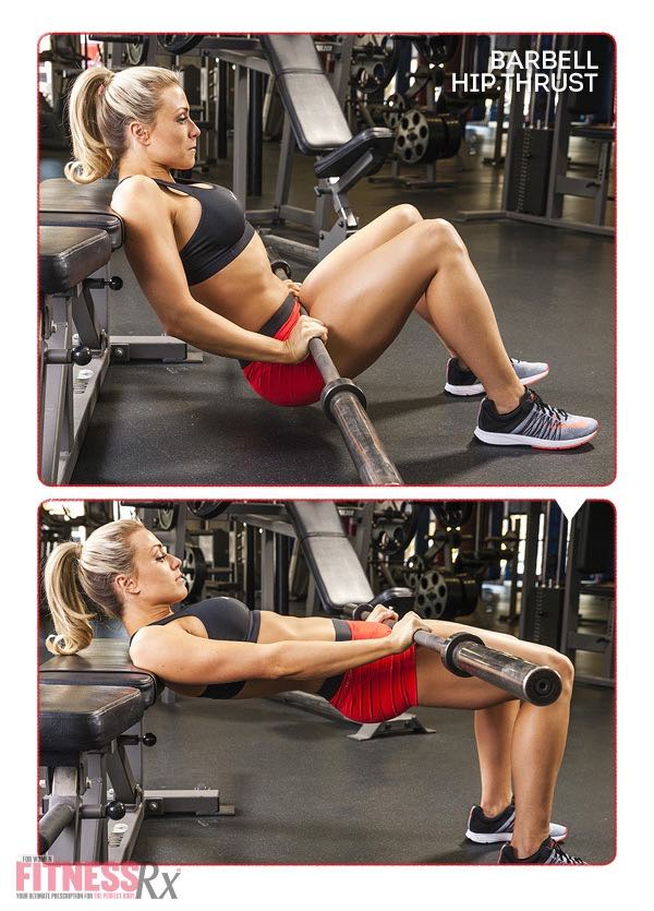 8 WEEK SUMMER SLIM DOWN WORKOUT - Hip Thrust
