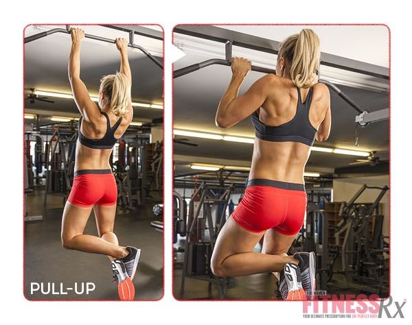 8 WEEK SUMMER SLIM DOWN WORKOUT - Pull-Up