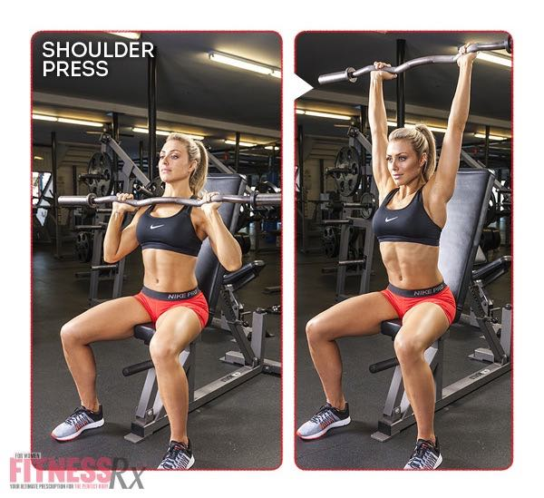 8 WEEK SUMMER SLIM DOWN WORKOUT - Shoulder Press