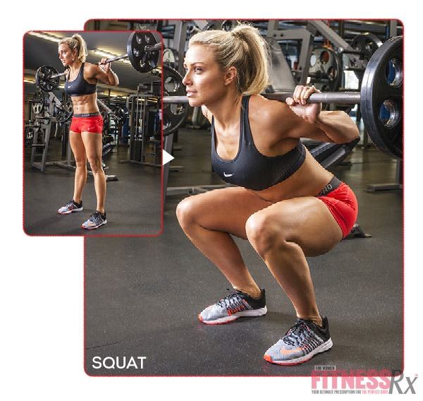 8 WEEK SUMMER SLIM DOWN WORKOUT - Squat