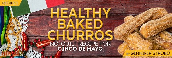 Healthy Baked Churros