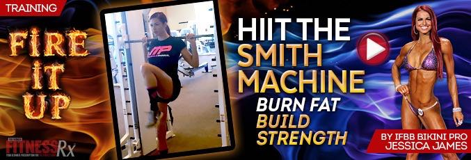 HIIT The Smith Machine