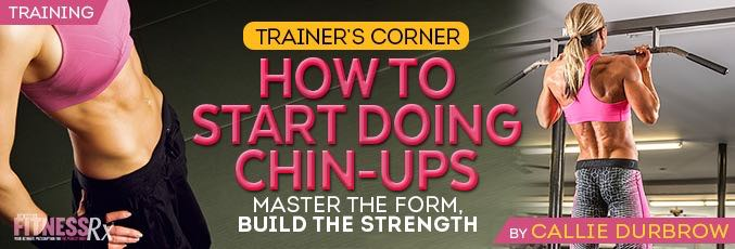 How to Start Doing Chin-ups