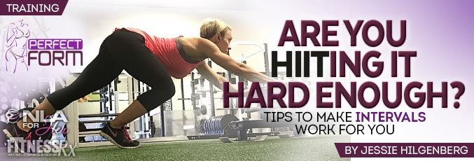 Are You HIITing It Hard Enough?