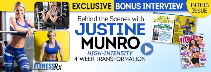 Justine Munro: Behind the Scenes - Body Transformation Photo Shoot