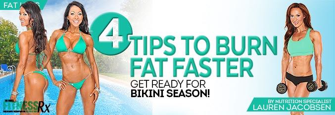 4 Tips To Burn Fat Faster