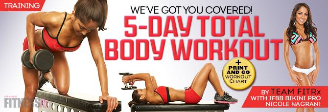 5-Day Total Body Workout Plan