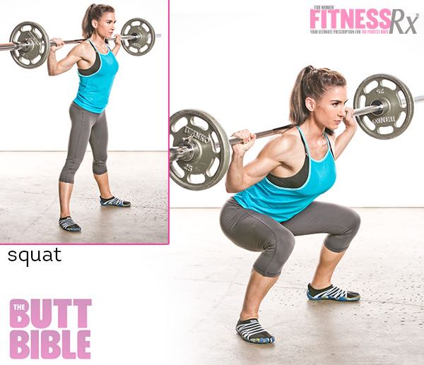 Pauline Nordin's Metabolic Booster Workout - Squat