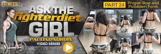 Ask The Fighter Diet Girl Pauline Nordin – Video 24