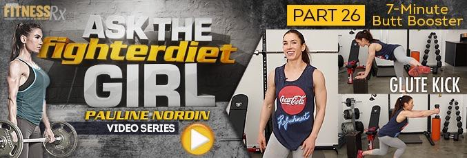 Ask The Fighter Diet Girl Pauline Nordin – Video 26