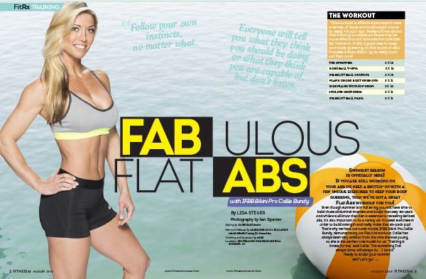 In This Issue: August 2015 - Fat Loss Special: Look Great for Summer