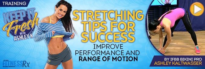 Stretching Tips for Success
