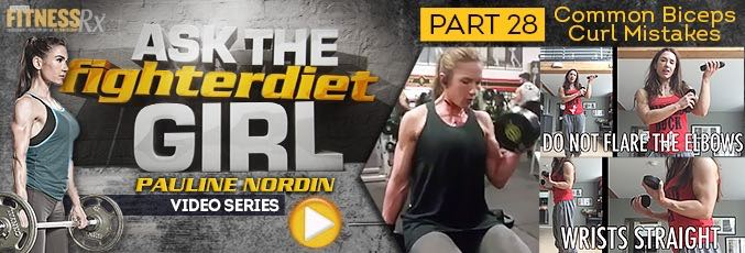 Ask The Fighter Diet Girl Pauline Nordin – Video 28