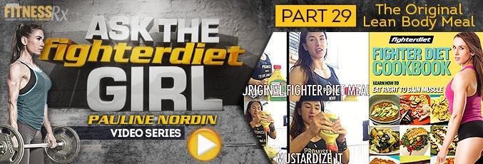 Ask The Fighter Diet Girl Pauline Nordin – Video 29