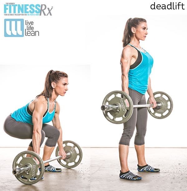 Deadlift - Skinny Fat With Muscle Ambition Workout - Pauline Nordin's Strength-Building Program