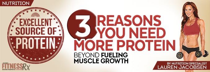 3 Reasons You Need More Protein