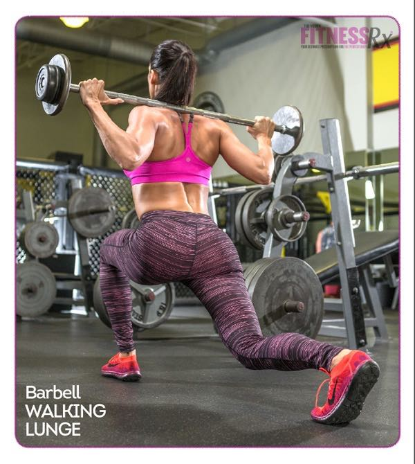 Barbell Walking Lunge