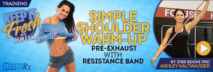 Simple Shoulder Warm-up