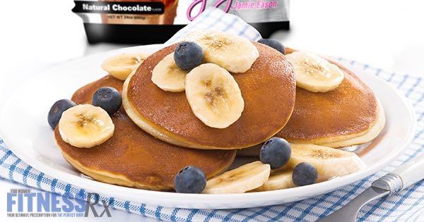 Banana Berry Powercakes