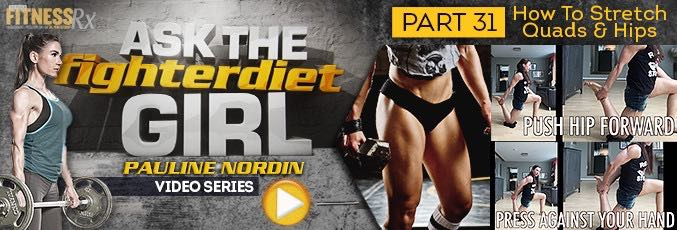 Ask The Fighter Diet Girl Pauline Nordin – Video 31