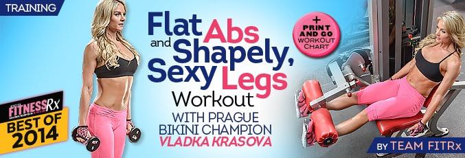 Flat Abs & Sexy Legs With Vladka Krasova
