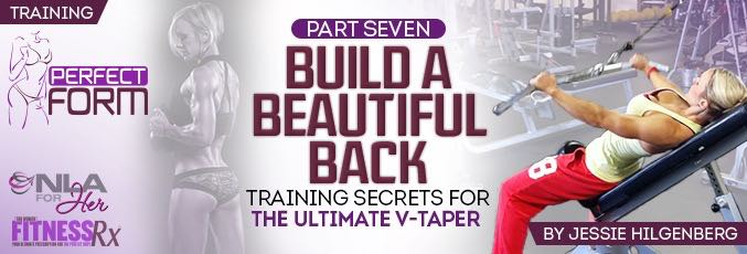 Build A Beautiful Back With Jessie Hilgenberg