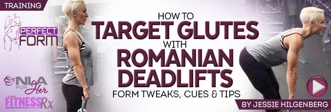 How To Target Glutes With Romanian Deadlifts
