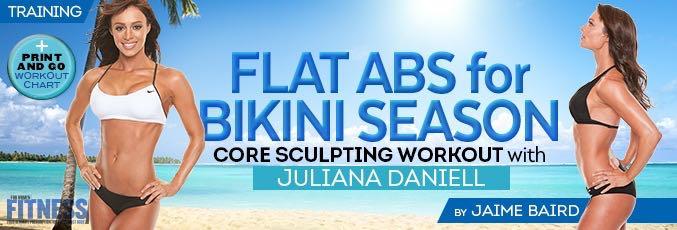 Flat Abs Circuit With Juliana Daniel