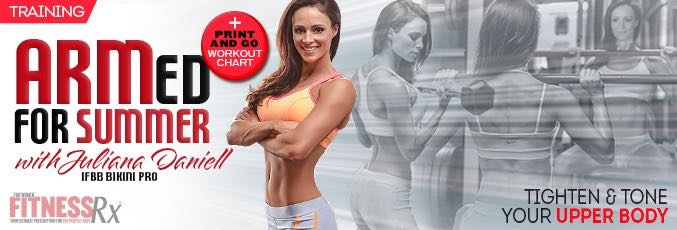 High Intensity Arms & Shoulders With Juliana Daniell