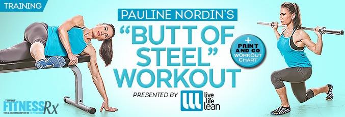 Butt of Steel Workout With Pauline Nordin