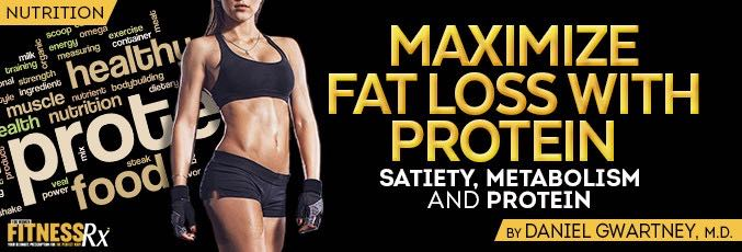 Maximize Fat Loss With Protein
