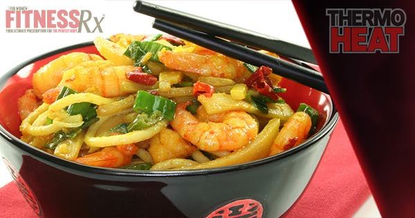 Spicy Schezwan Shrimp Stir Fry