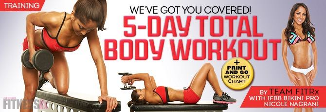 5-Day Total Body Program