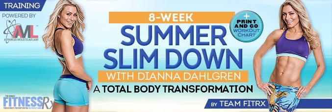 8-Week Summer Slimdown With Dianna Dahlgren – Lower Body Workout & Abs 2