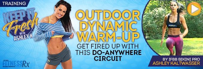 Outdoor Dynamic Warm-up