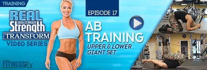 Ab Training With Ava Cowan
