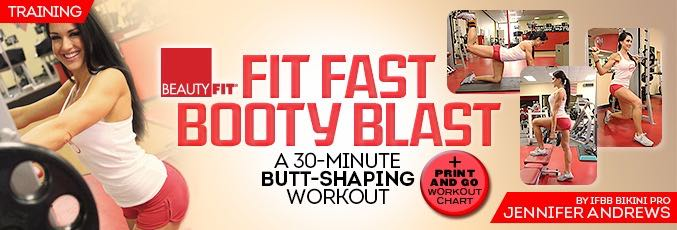 FIT FAST Booty Blast With Jennifer Andrews – 30 Minute Program