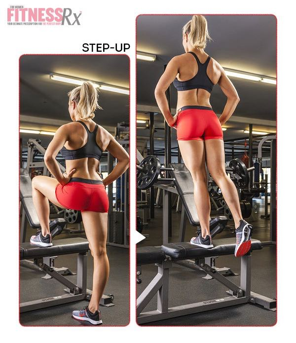 Stepmill/Stairmaster/Step-ups