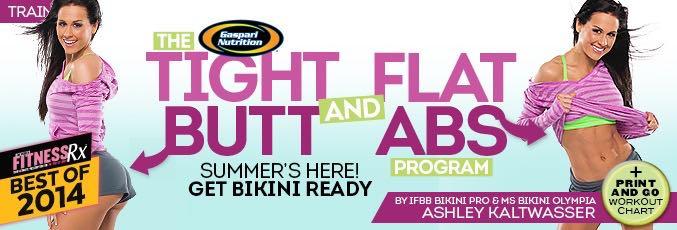 Tight Butt & Flat Abs With Ashley Kaltwasser