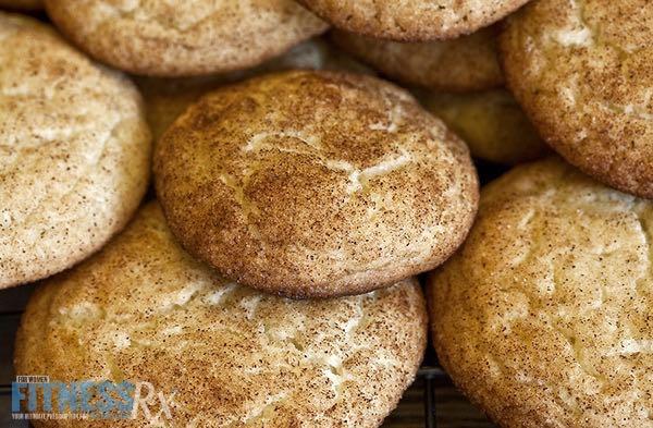 Skinny Snickerdoodle Cookies | FitnessRX for Women