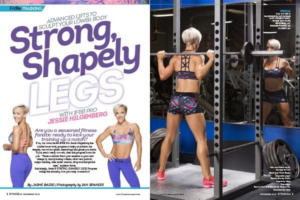 Strong, Shapely Legs With IFBB Pro Jessie Hilgenberg: Advanced Lifts To Sculpt Your Lower Body