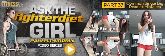 Ask The Fighter Diet Girl Pauline Nordin – Video 37