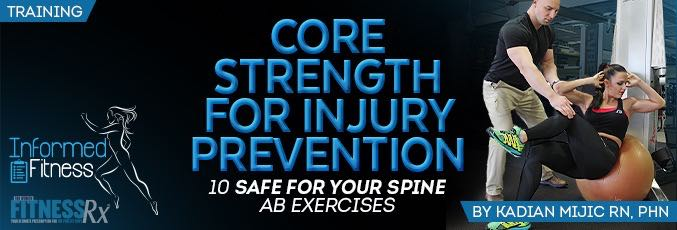 Core Strength For Injury Prevention With Kadian Mijic