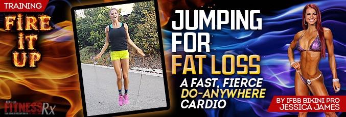 Jumping For Fat Loss With Jessica James